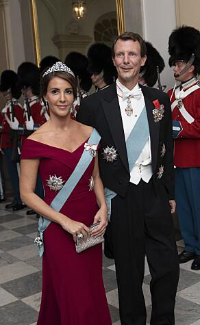 UVANLIG: Flere reagerte på prins Joachims manglende militæruniform, som han historisk sett har brukt i slike formelle anledninger. Foto: NTB scanpix