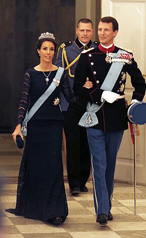 NORMALEN: Det er slik vi er vant med å se de danske prinsene. Her er Joachim fotografert under feiringen av moras 75-årsdag i 2015. Foto: NTB scanpix