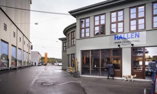 EKTE: Restaurant Hallen ligger i det som har vært Oslos fiskemottak i over 80 år, ikke så langt fra Vippa.