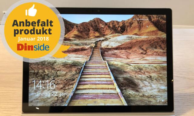 d5633bcd EN AV VINNERNE: Microsoft Surface Book II vinner i klassen for hybrid-PC-