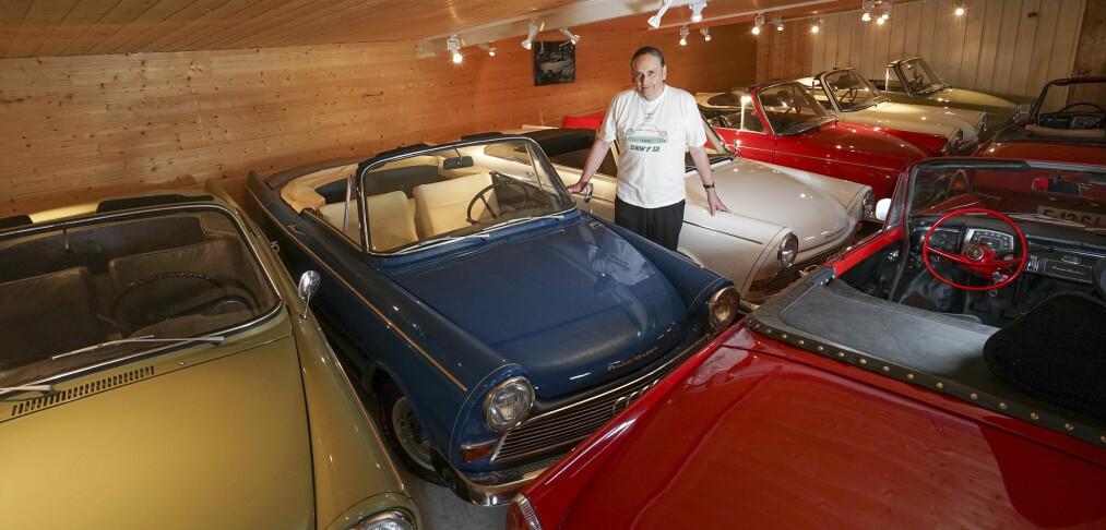 Sverre fra Grong har en av verdens mest vanvittige bilsamlinger