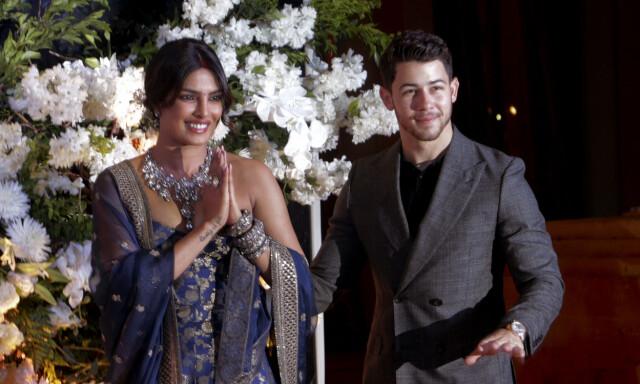 3f0d6da9 FÅR IKKE NOK: Det er knappe tre uker siden Priyanka Chopra og Nick Jonas  giftet