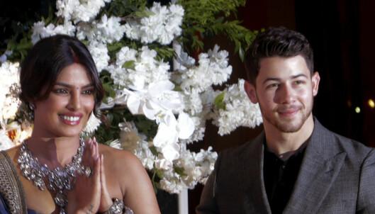 Feiret bryllupet for tredje gang på tre uker