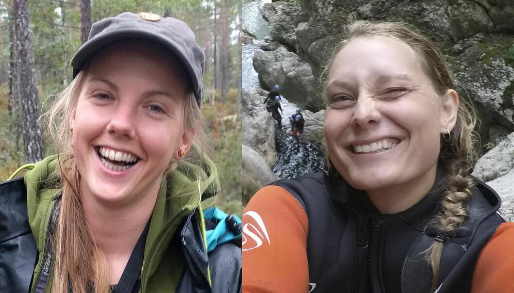 DREPT: Norske Maren Ueland (28) (t.v.) og danske Louisa Vesterager Jespersen (24) ble funnet drept 17. desember, ved foten av Toubkal-fjellet nær fjellandsbyen Imlil i Marokko. Foto: Privat