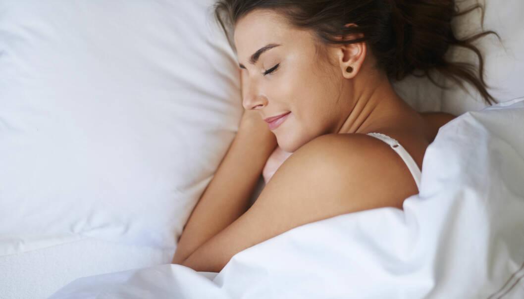 LA HENNE SOVE: Flere studier har vist det samme: Damer trenger litt mer søvn enn menn gjør. FOTO: NTB Scanpix