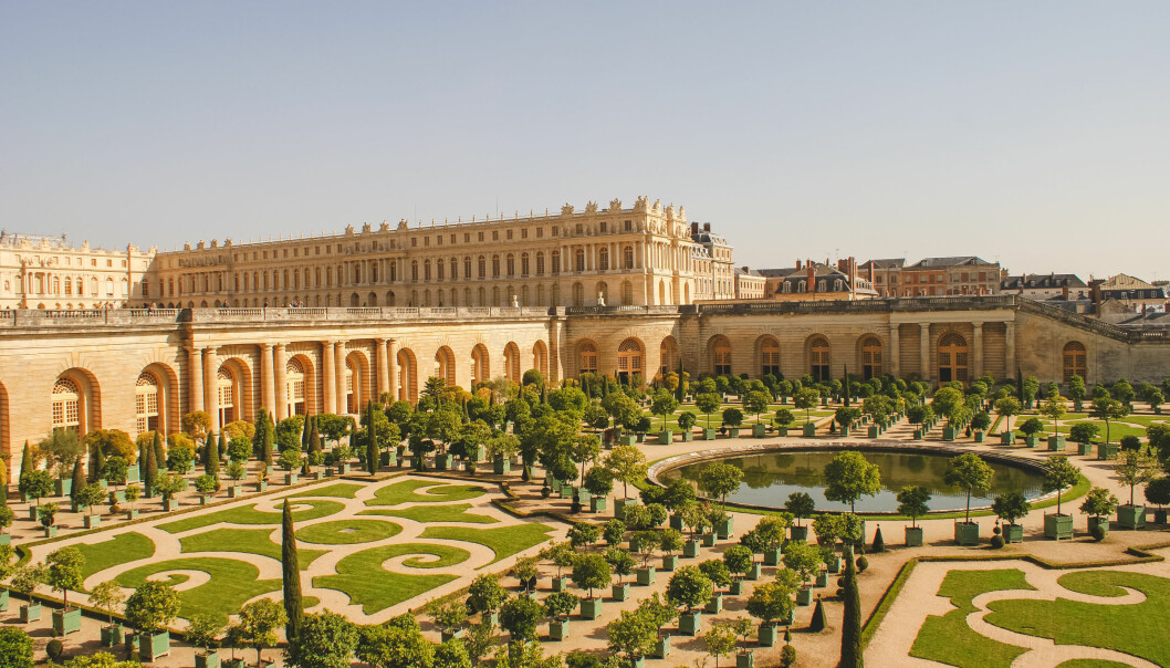 SKATTESLUK: Slottet Versailles utenfor Paris, hvor Marie Antoinette og Kong Ludvig 16. bodde. Ingen tvil om hvor folkets skattepenger havnet. FOTO: NTBScanpix