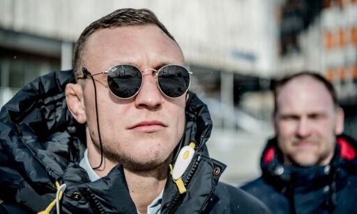 MENTAL TRENER: Jack Hermansson har operasjonell rådgiver Tommy Fjeldheim som en god skygge. Foto: Thomas Rasmus Skaug