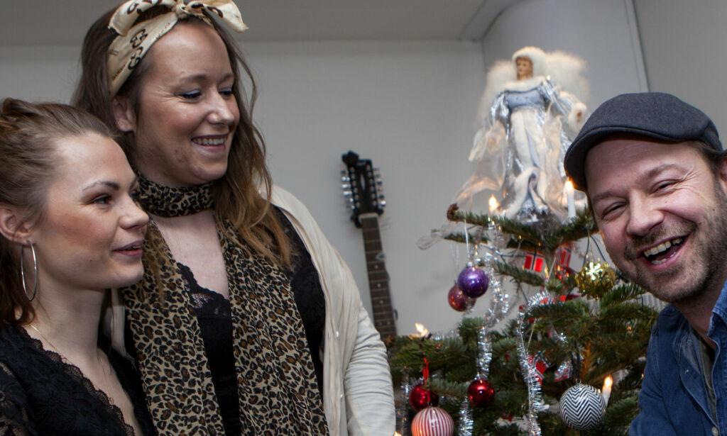 image: Dro fra familien på julaften for å feire med ensomme