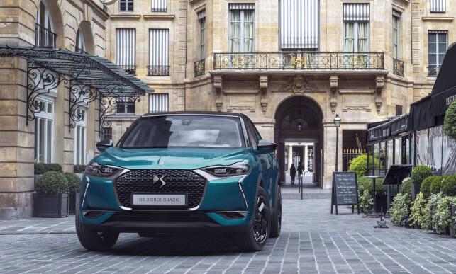 FRANSK LUKSUS: DS ber luksusmerket til Peugeot Citroën Automobil (PSA). Foto DS