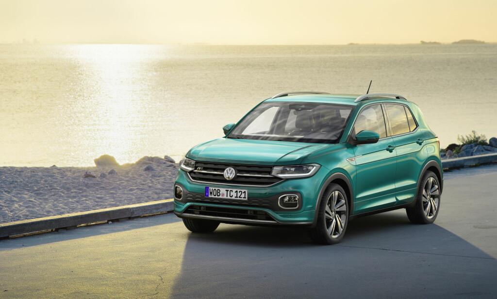 RIMELIG: VW T-Cross starter på 280.000 kroner. Foto: VW