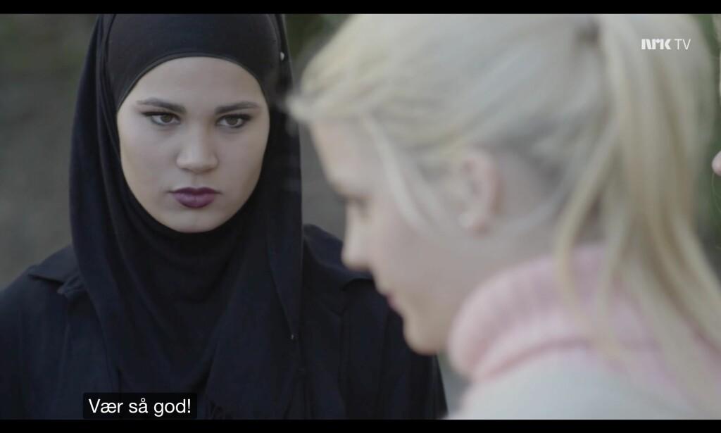 Hjælp. Foto: NRK
