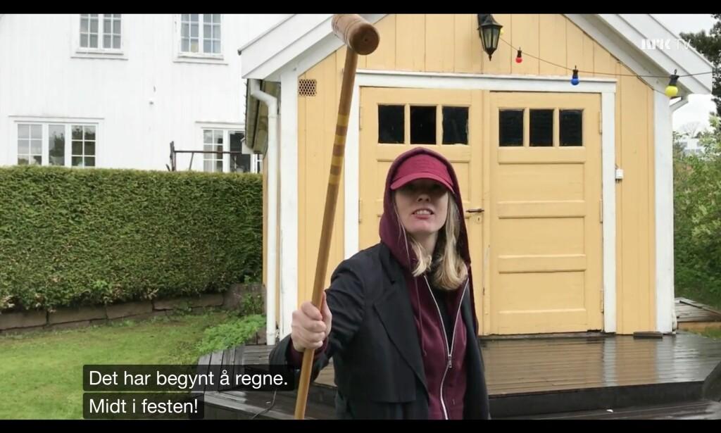 Genius at work. Foto: NRK