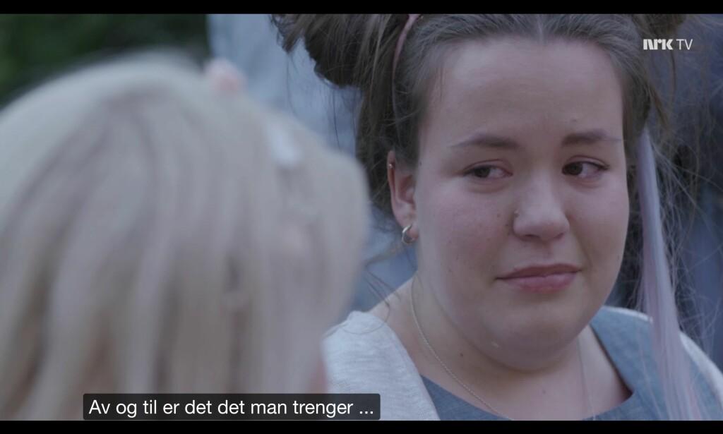 Det grines. Foto: NRK