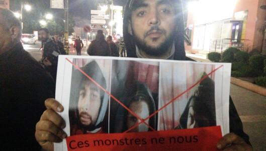 Markering i Marrakech: «Monstrene representerer ikke oss»