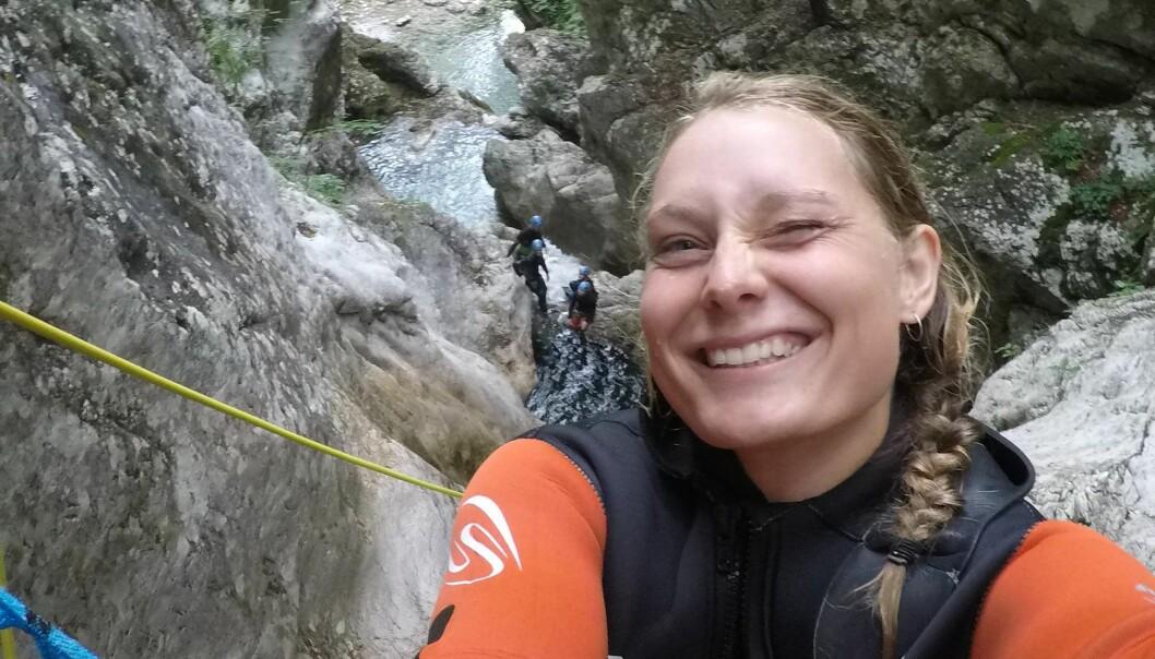 <strong>DREPT:</strong> Danske Louisa Vesterager Jespersen (24) var på tur med norske Maren Ueland (28) i Marokko. Mandag ble de funnet drept i et turområde nær landsbyen Imlil i Atlasfjellene. Foto: Privat