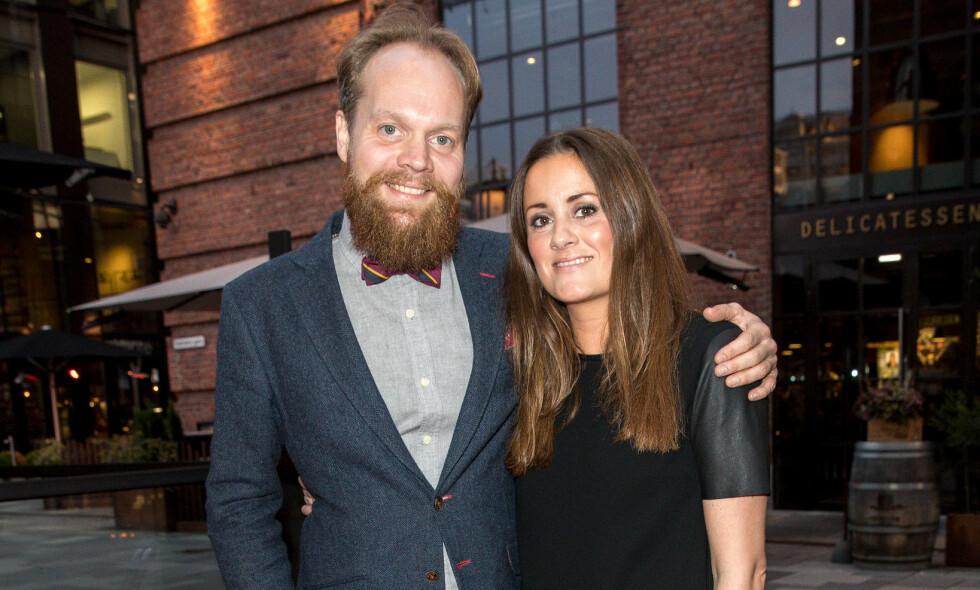 BLIR FORELDRE: Jon Niklas Rønning og Kristine Riis venter sitt første barn sammen. Foto: Andreas Fadum / Se og Hør