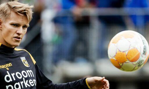 image: Ødegaard scoret i tredje kamp på rad