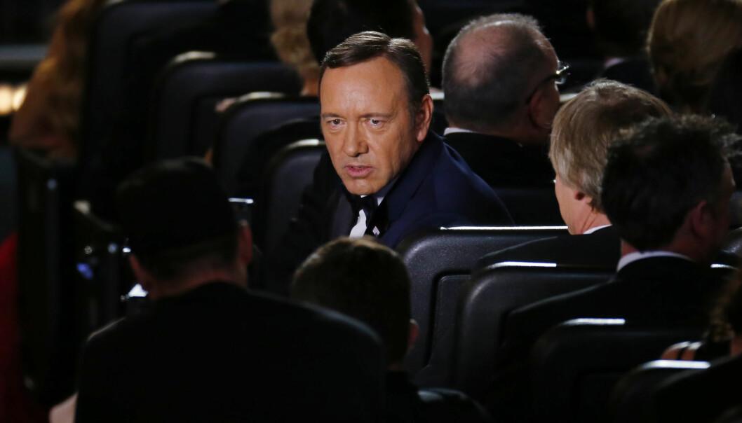 KORTHUSET SOM FALT: Den Oscar-belønnede skuespilleren Kevin Spacey var en av mange som ble felt i forbindelse med #metoo-kampanjen. Her avbildet i 2013. Nå viser han seg igjen. Foto: NTB scanpix