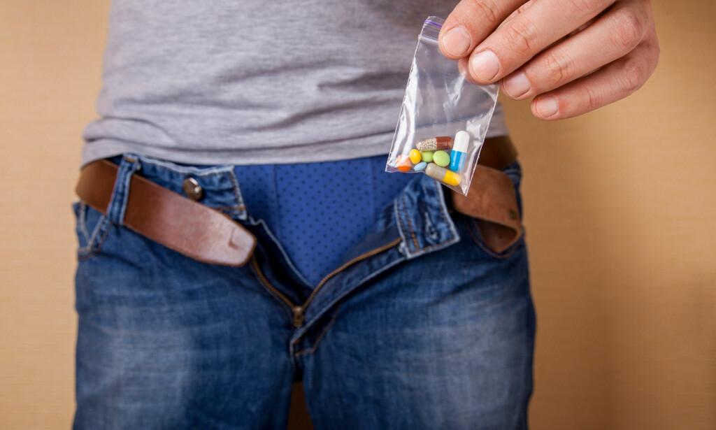TRØBBEL I TÅRNET: Enkelte medikamenter kan gi seksuelle bivirkninger, men plagene relatert til noen medisiner kan være over rapporterte. Psykologiske faktorer påvirker også i stor grad. Foto: NTB / Scanpix / Shutterstock.