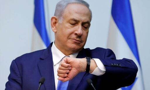 image: Det er tid for valg. Netanyahu sender observatører hodestups ut