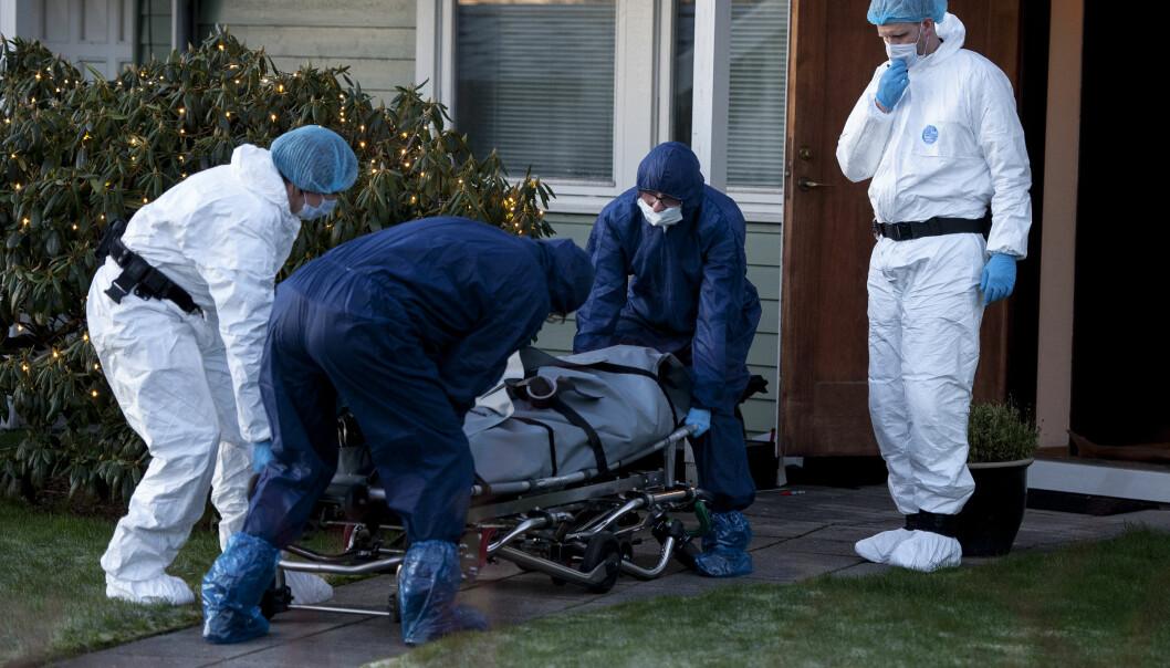 <strong>DRAP:</strong> En mann i 20-åra er siktet for drap etter at en mann ble funnet død på en privat adresse i Sandnes i Rogaland natt til lile julaften. Foto: Carina Johansen / NTB Scanpix