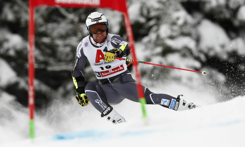I FORM: Aleksander Aamodt Kilde var nest best på utfortreningen i italienske Bormio. Foto: AP Photo/Gabriele Facciotti