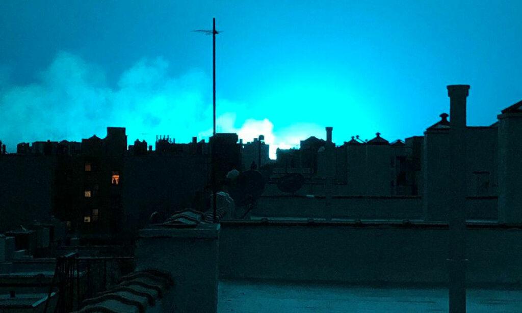 image: Eksplosjon i New York: - Trodde det var en UFO