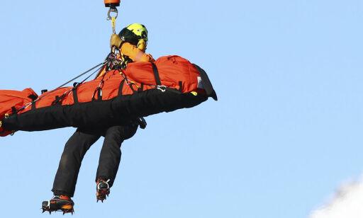 image: Norsk alpinist falt stygt i Italia - fraktet bort i helikopter