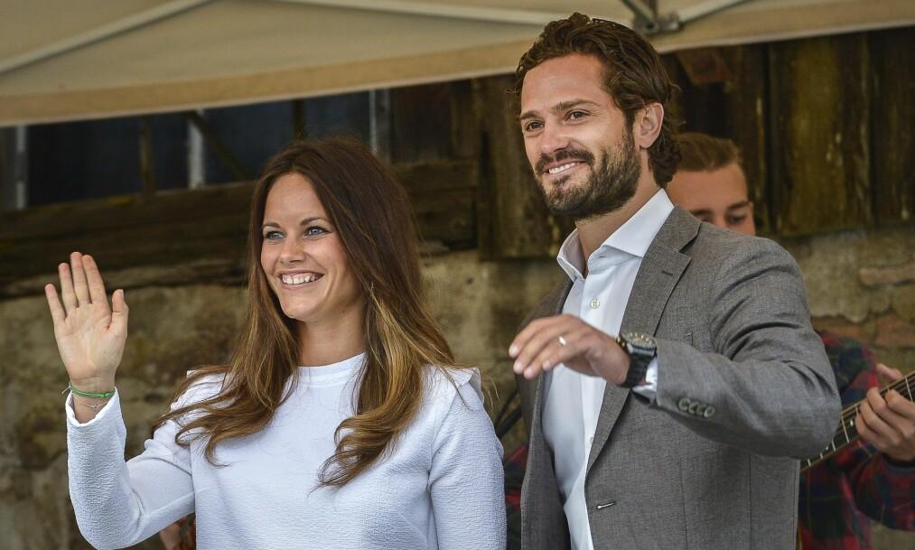 PRINSESSE PÅ PRØVE: Prinsesse Sofia av Sverige forteller i et nytt TV-program at det ikke alltid har vært like enkelt å være henne. Tidvis har tvilen vært stort, og det har vært vanskelig å finne en god balanse. Foto: NTB scanpix