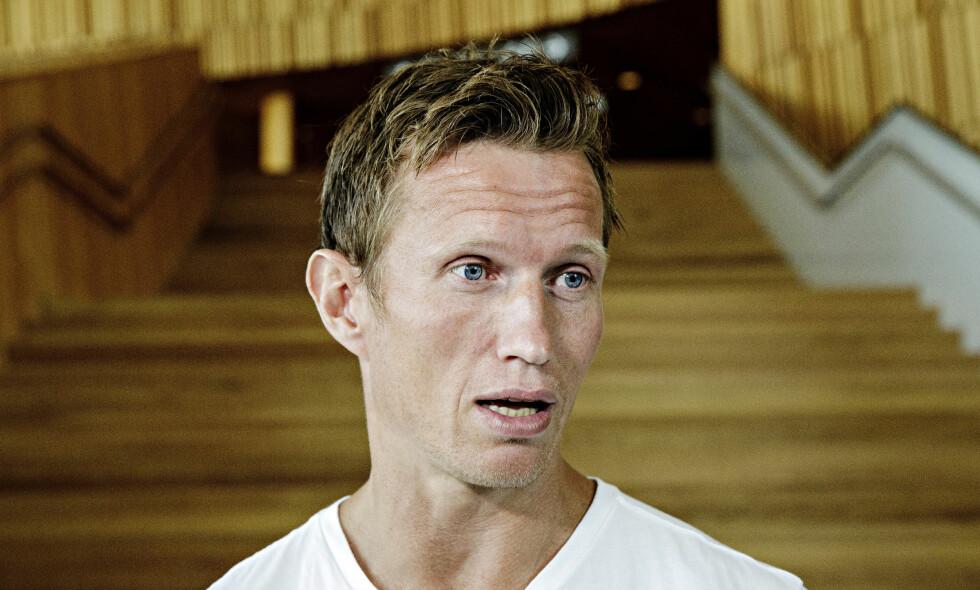 ELLEVILT ÅR: Frank Løke snakker ut om det elleville året som er gått. Selv angrer han ikke på noe. Foto: Nina Hansen / Dagbladet