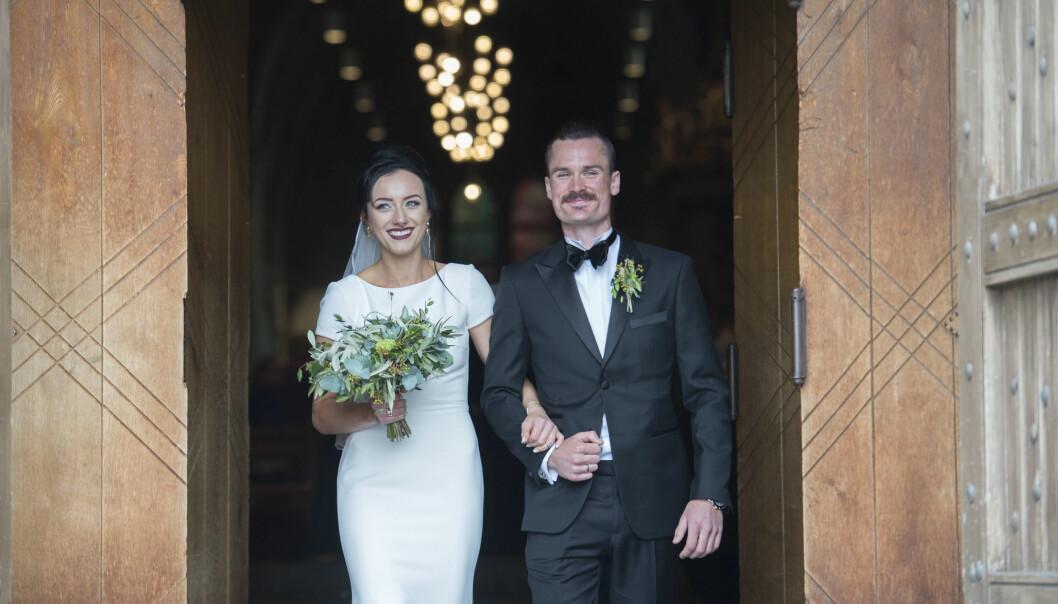 BLE FORELDRE IGJEN: Friidrettsstjernen Henrik Ingebrigtsen og kona Liva. Foto: Anders Martinsen / Se og Hør