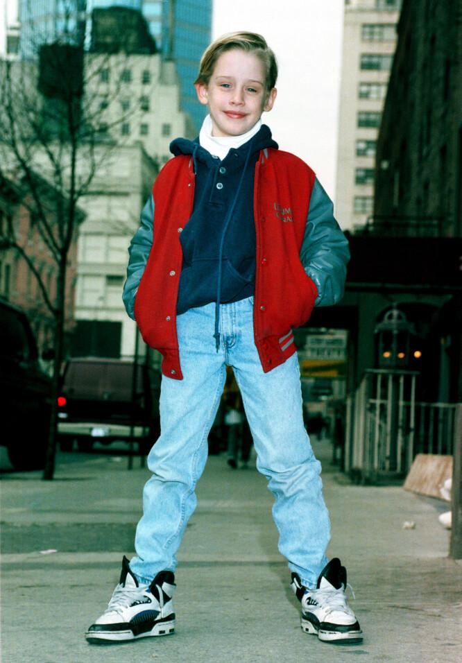 STORSJARMØR: Macaulay Culkin smeltet mange hjerter som barn. Foto: NTB Scanpix