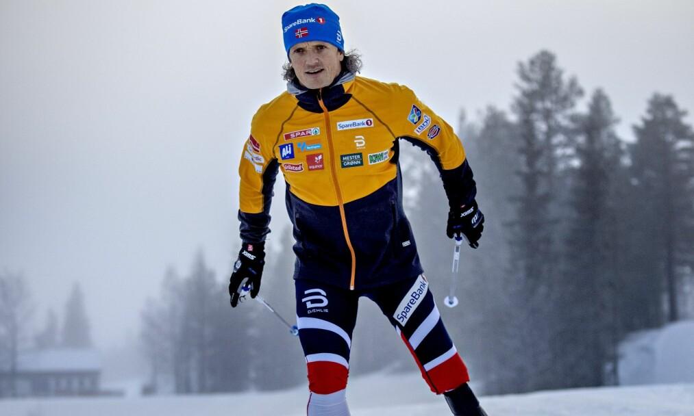 <strong>Trysil:</strong> Trygve Toskedal Larsen måtte amputerte beinet etter motorsykkelulykke, og ble en av de beste i kjelkekjøring. Nå skal han konkurrere på ski, med protese. Foto: Jørn H Moen / Dagbladet