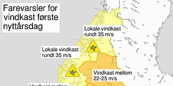 image: Nå kommer nyttårsuværet: - Det treffer hele Sør-Norge