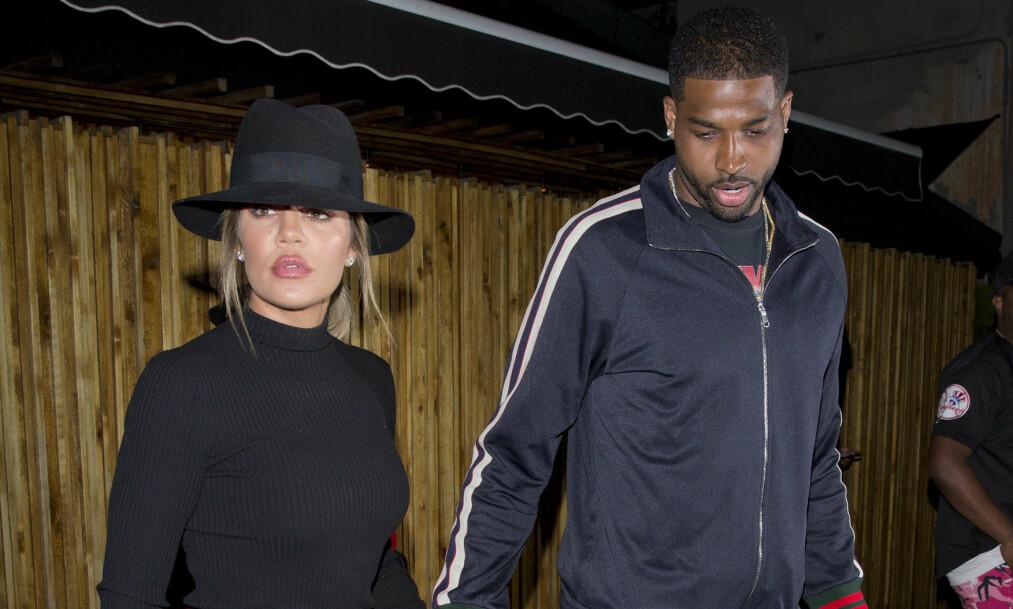 SPESIELT ÅR: Khloé Kardashian kan se tilbake på både store øyeblikk og langt mindre hyggelige hendelser i 2018. Nå åpner hun opp om året som er gått. Foto: NTB Scanpix