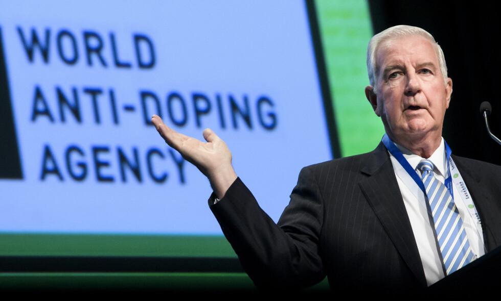 FIKK TILGANG: President Craig Reedie og resten av WADA har fått tilgang til antidopinglaboratoriet i Moskva og har startet datainnhentingen. Foto: Jean-Christophe Bott/Keystone via AP/NTB Scanpix