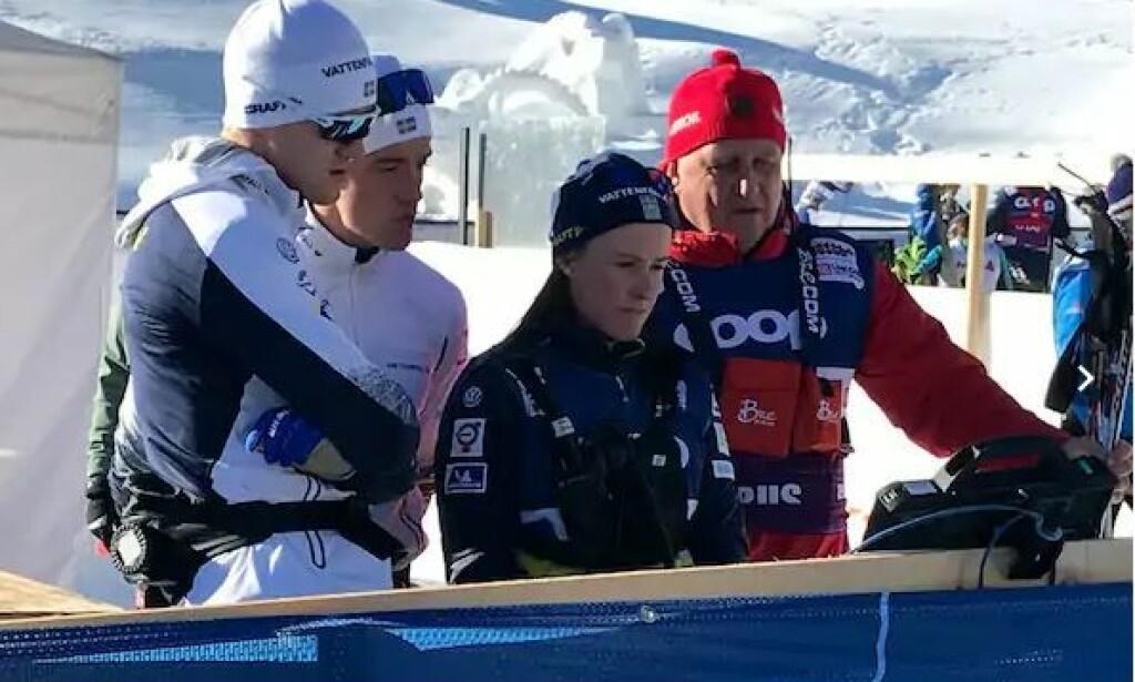 TILBAKE: Jurij Borodavkos (til høyre) utøvere har dominert i Tour de Ski. Foto: Ludvig Holmberg / Expressen