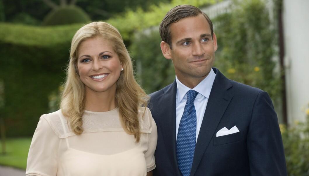 UTROSKAPSSKANDALE: Prinsesse Madeleine rømte til USA etter sjokknyheten om forloveden, Jonas Bergström. Foto: NTB scanpix