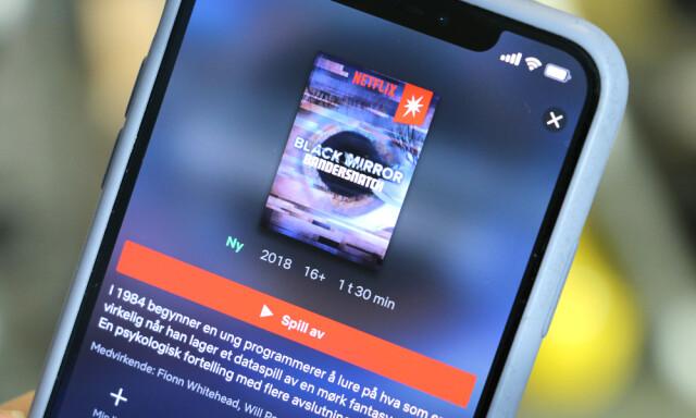 Derfor kan du ikke se nye Black Mirror på Apple TV - Netflix