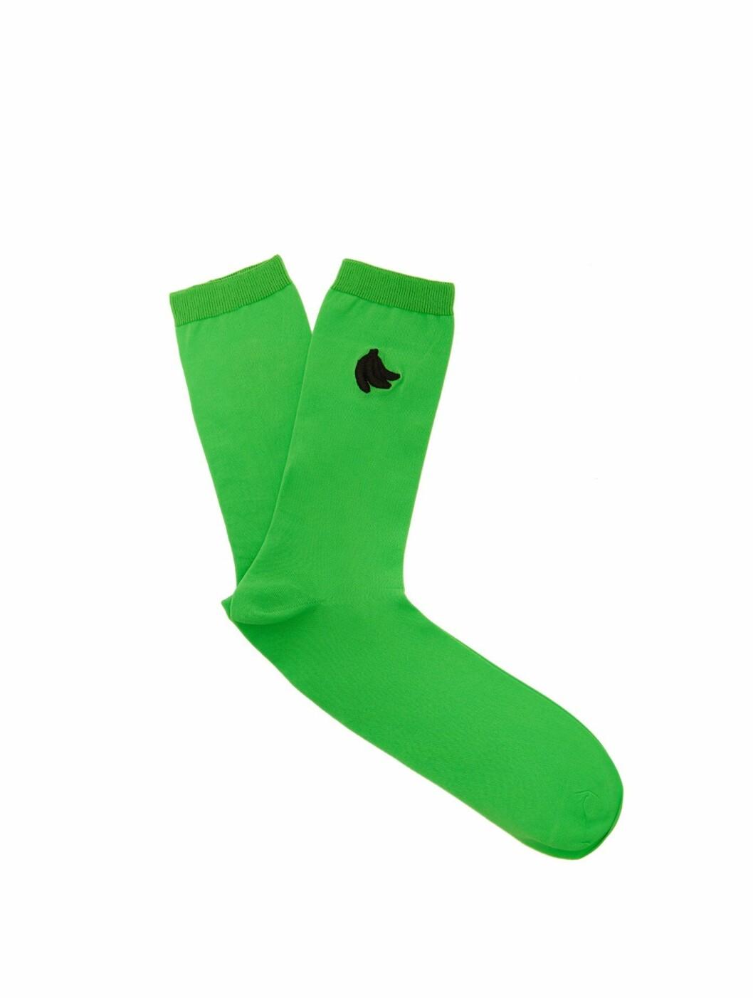 Sokker fra Ganni |165,-| https://www.matchesfashion.com/intl/products/Ganni-Banana-embroidered-socks-1262487