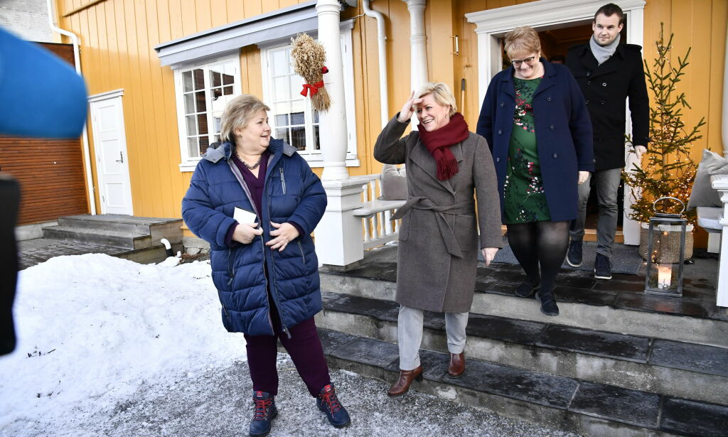 image: Ropstad fornøyd med Solbergs nyttårstale: - Den var som skreddersydd for KrF
