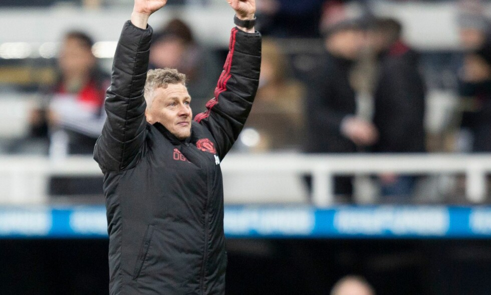 KUNNE JUBLE IGJEN: Ole Gunnar Solskjær står med fire strake seire og en perfekt start som Manchester United-manager. Foto: REUTERS/Scott Heppell/NTB Scanpix