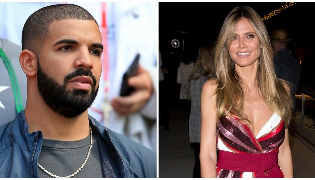 <strong>UNNSKYLDNING:</strong> Etter at supermodell Heidi Klum besluttet å «ghoste» rapperen Drake, etter å ha blitt bedt ut på date via tekstmelding, så hun seg nødt til å beklage. Foto: NTB scanpix