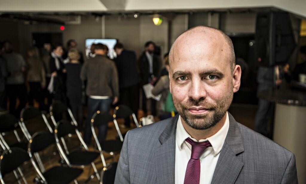 UTÅLMODIG: Arild Grande, stortingsrepresentant for Arbeiderpartiet, synes det tar for lang tid å få på plass et åpent konkursregister. <br>Foto: Hans Arne Vedlog /Dagbladet