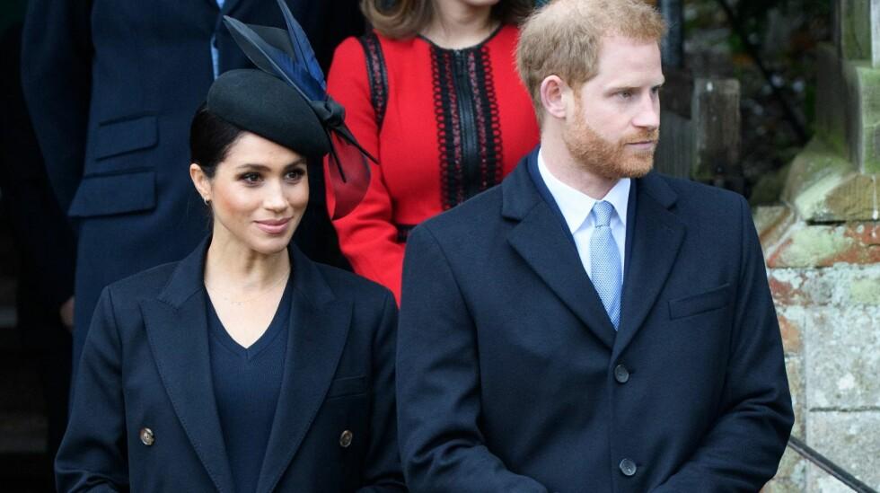 GOD INNFLYTELSE: Hertuginne Meghan har ved flere anledninger hatt en stor innflytelse på prins Harry. Tidligere har han sluttet å røyke, og han droppet julens jakttradisjon for hennes skyld. Foto: NTB Scanpix