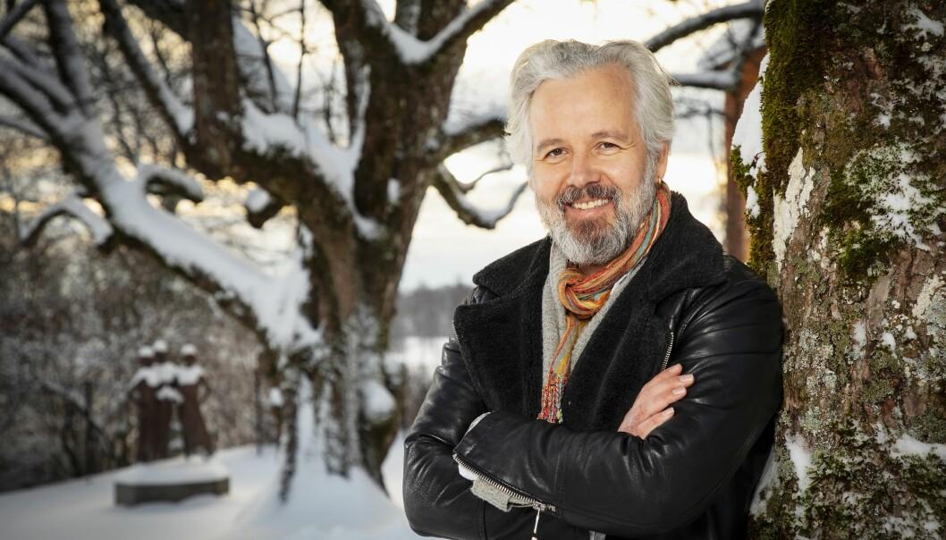 ET GODT LIV: Ari Behn er nå lykkelig og fornøyd med livet. Hans utstilling på Bogstad gård i Oslo er den siste sukses-sen i rekken av personlige oppturer.   Foto: Tor Lindseth/ Se og Hør