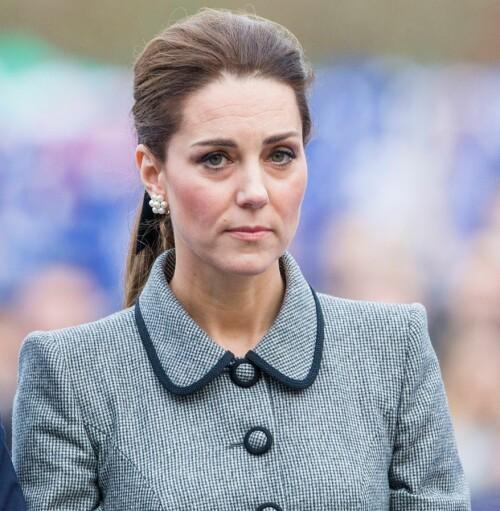 VANSKELIG TID: Hertuginne Catherine skal ha blitt utsatt for grov mobbing i barndommen. Foto: NTB Scanpix