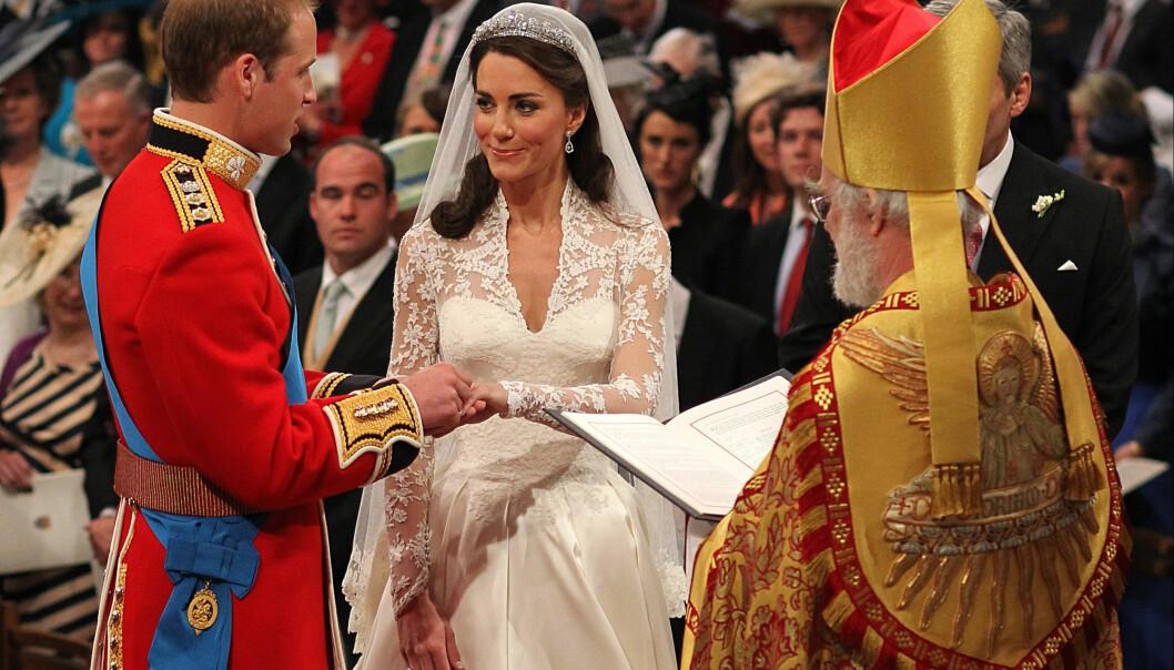 FIKK SIN PRINS: Hele verden fulgte med da Kate Middleton giftet seg med britenes tronarving i 2011. Foto: NTB Scanpix