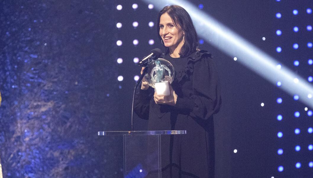 VANT PRIS: Marit hentet hjem prisen for Årets kvinnelige utøver. Foto: Andreas Fadum / Se og Hør