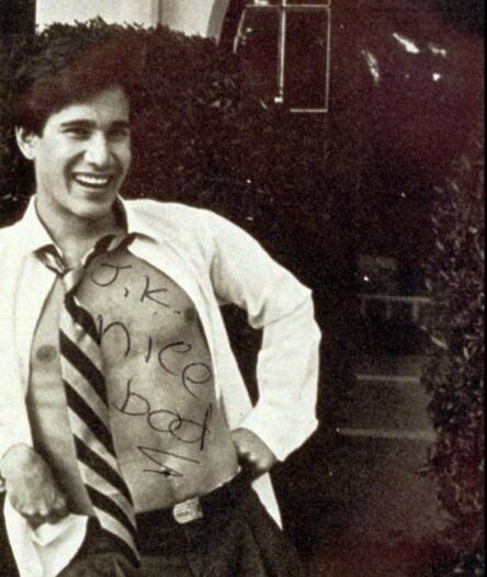 <strong>DREPTE VERSACE:</strong> 27 år gamle Andrew Cunanan, her avbildet i 1987. Foto: NTB Scanpix